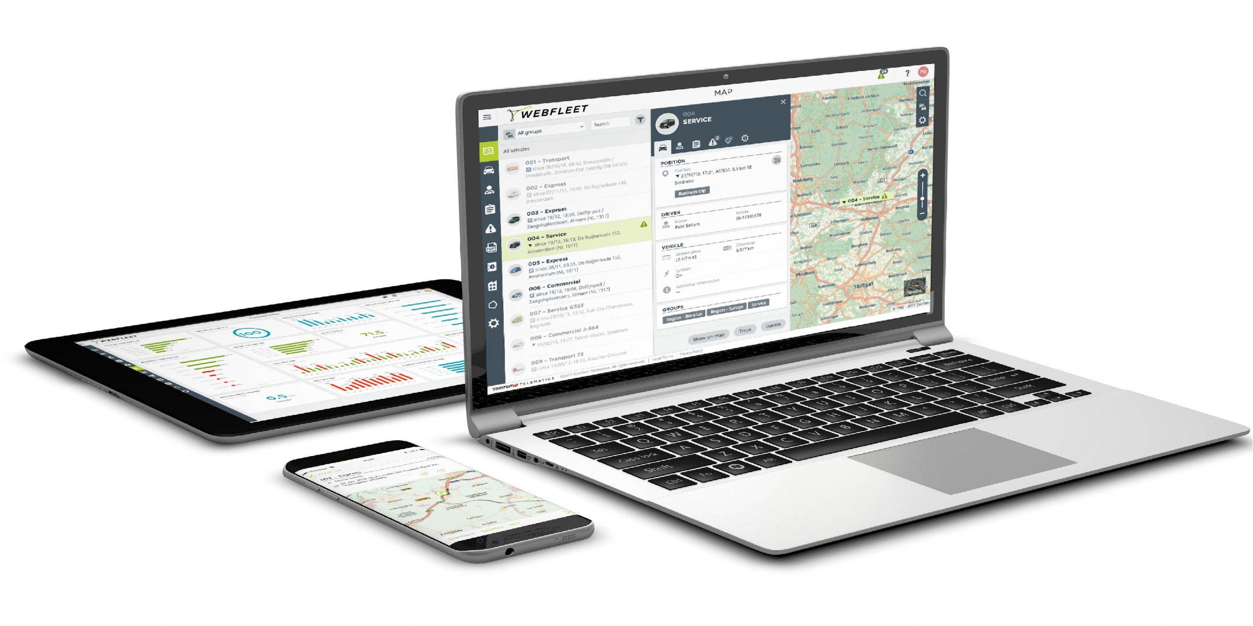 Webfleet Solutions auf allen Geräten