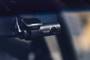 Dashcam DR900x von Blackview im Auto
